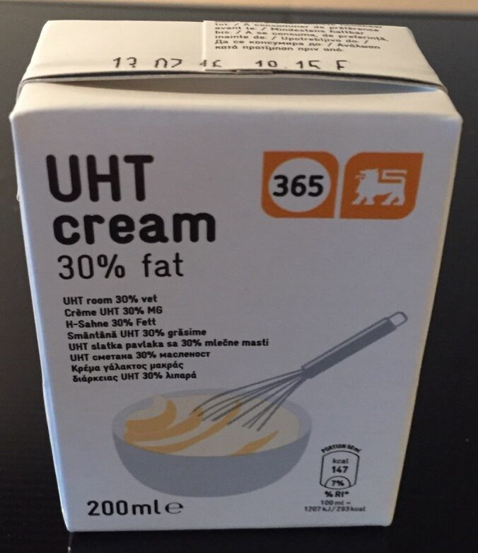 Crème Liquide 30%mat Grasse - Product