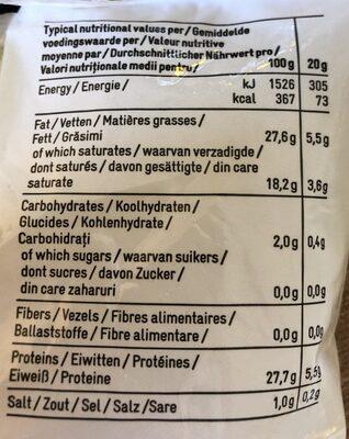 Fromage râpé - Ingrédients