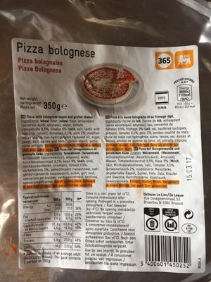 Pizza Bolognese - Product