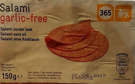 Salami sans ail - Prodotto - fr
