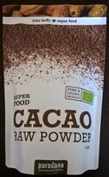 Cacao Raw Powder - Produit - fr