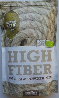 Super Mix Riche En Fibres Bio - 250 G - Purasana - Product