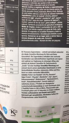Super Exotic - Préparation Pour Smoothie Bio - 200 G - Purasana - Product