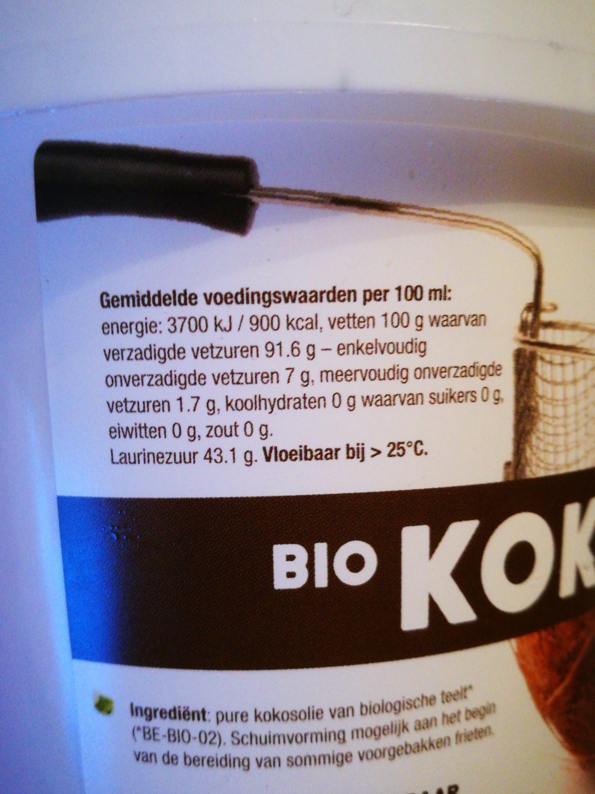 Huile De Noix De Coco - 500 ML - Purasana - Ingrediënten