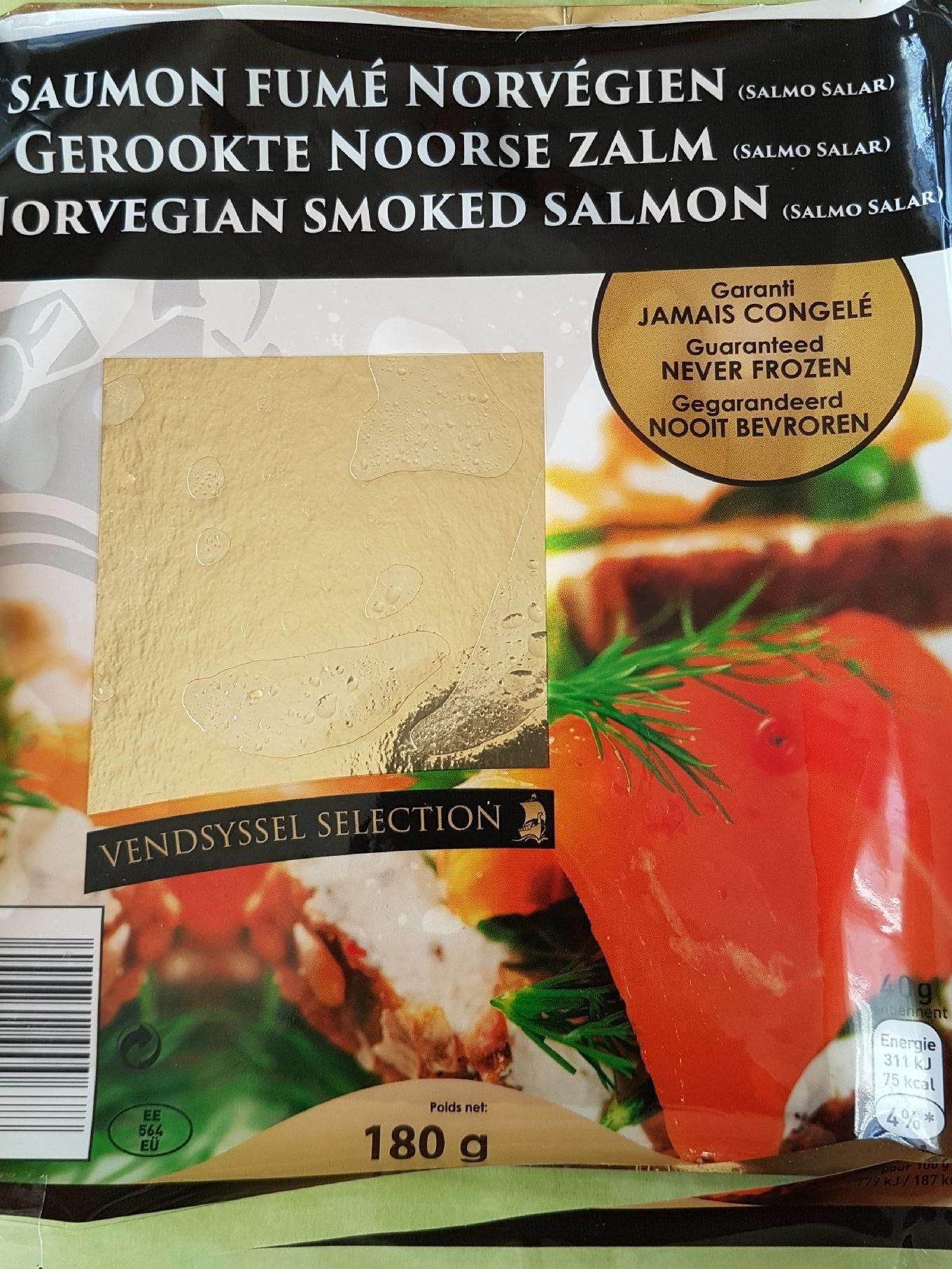 Saumon Fumé Norvégien - Product - fr