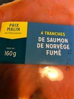 Saumon Fume de Norvège - Produit - fr