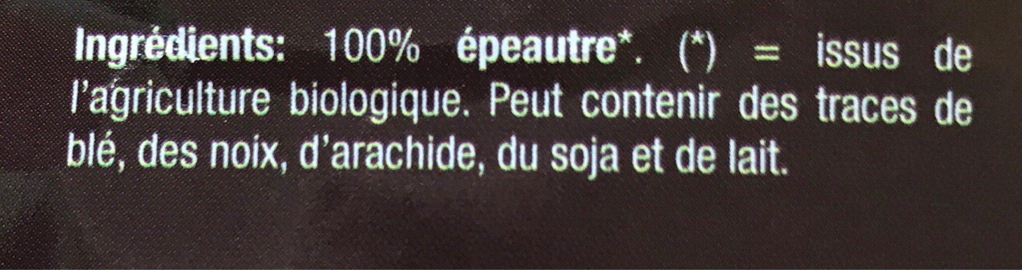 Flocons d'épeautre - Ingredients