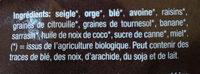Muesli Base - Ingredients - fr