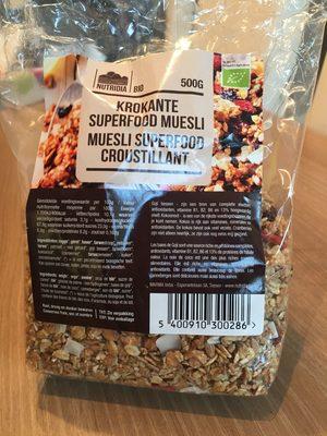Muesli Superfood Croustillant - Product - fr