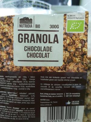 Granola chocolat - Product