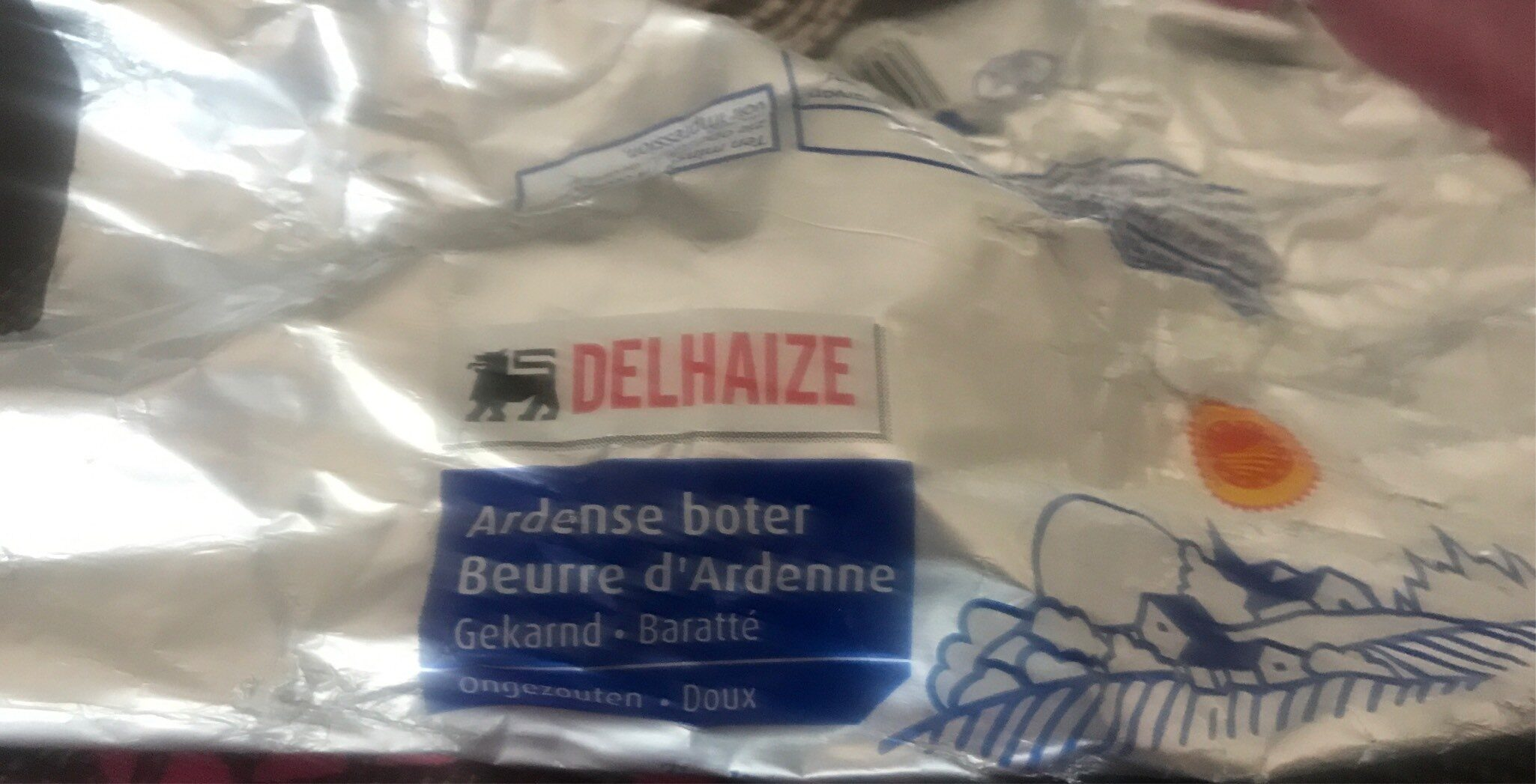 Beurre d'Ardenne Doux - Product - fr