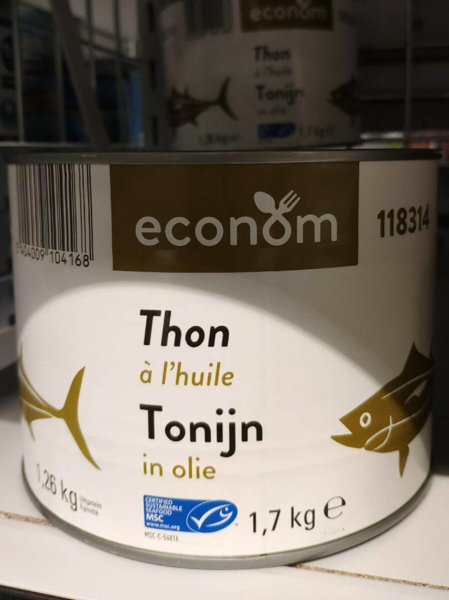 Thon a l'huile - Product - fr