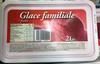 Glace familiale fraise - Produit