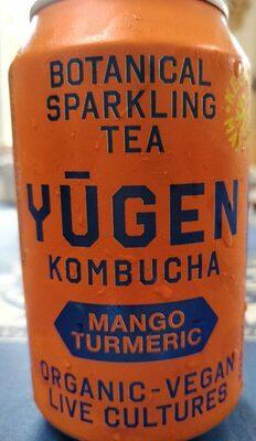 Yugen kombucha Mango turmeric - Product - fr