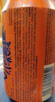 Yugen kombucha Mango turmeric - Nutrition facts - fr
