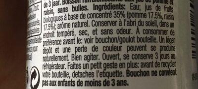 Honest kids - Ingrediënten - fr