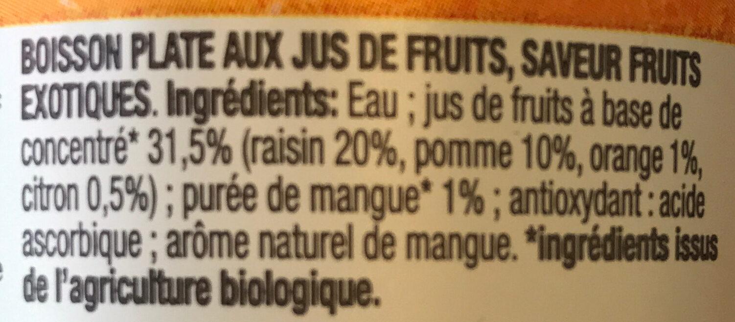 HONEST - Ingredients