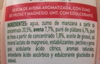 Avena de la Buena Fresa-Plátano AdeS - Ingredientes