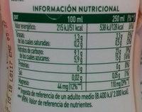 Avena de la Buena Fresa-Plátano AdeS - Información nutricional