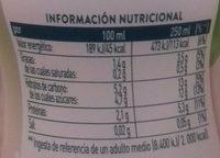 Soja Maravillosa Manzana AdeS - Información nutricional