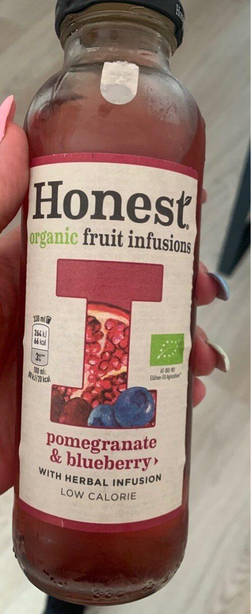 "Honest ""Pomegranate & blueberry"" - Product - es"