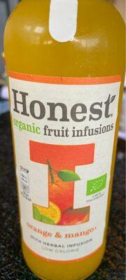 Organic fruit infusions Orange & Mango - Product - fr