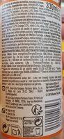 Organic fruit infusions Orange & Mango - Nutrition facts - fr
