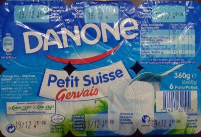 Petit Suisse Gervais - Product - fr