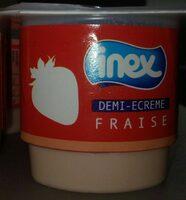 Yaourt demi-écrémé fraise - Product