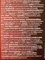 Bouchée Lait - Ingredients