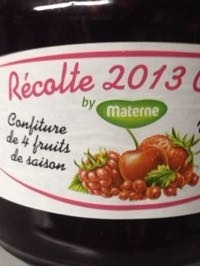 Confiture 4Fruits MATERNE - Product - fr