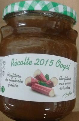 Confiture de rhubarbe fraîche - Product - fr