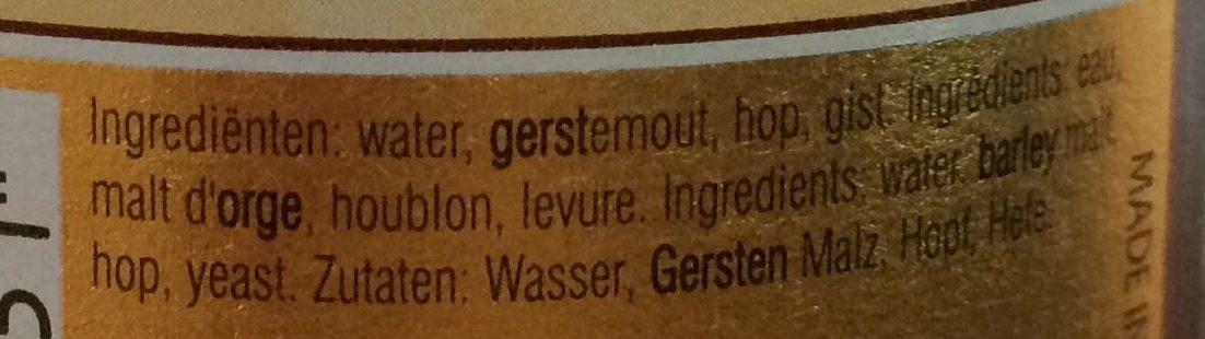 Kwak - Ingrediënten - nl