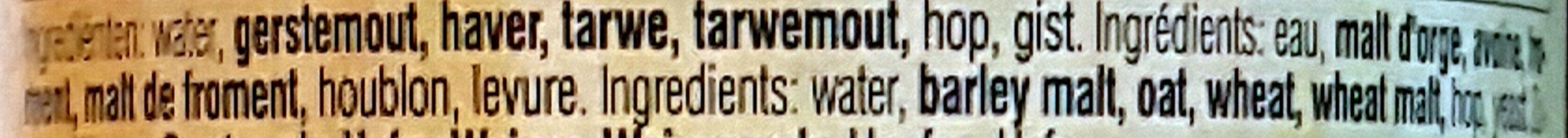 Tripel Karmeliet - Ingrediënten