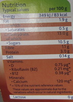Silky Smooth Chocolate - Nutrition facts
