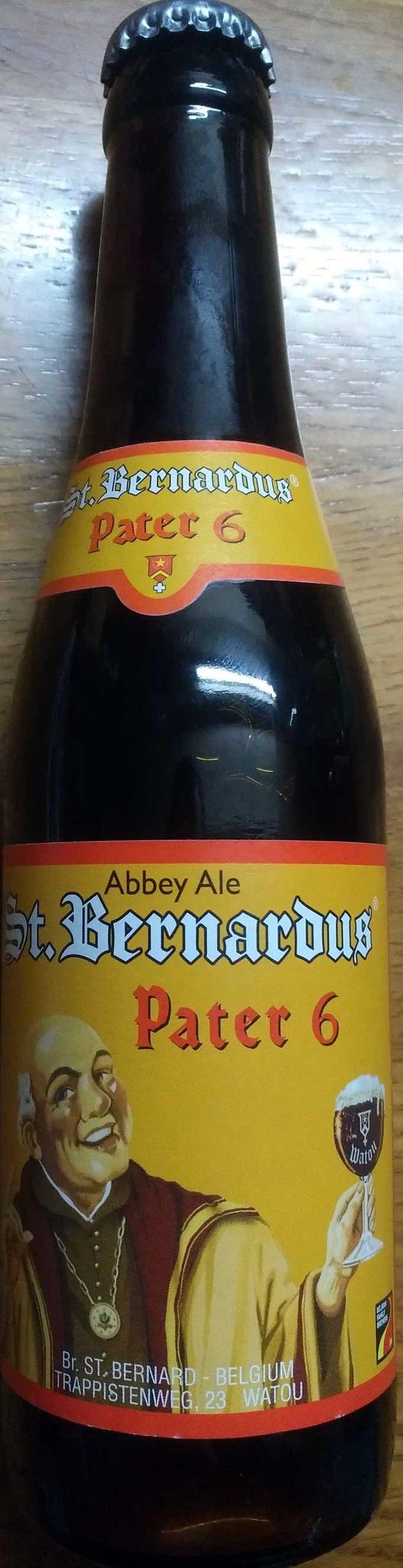 Bière d'abbaye Saint Bernardus Pater 6  6,7% - Produit - fr