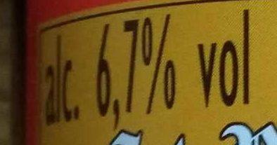 Bière d'abbaye Saint Bernardus Pater 6  6,7% - Nutrition facts