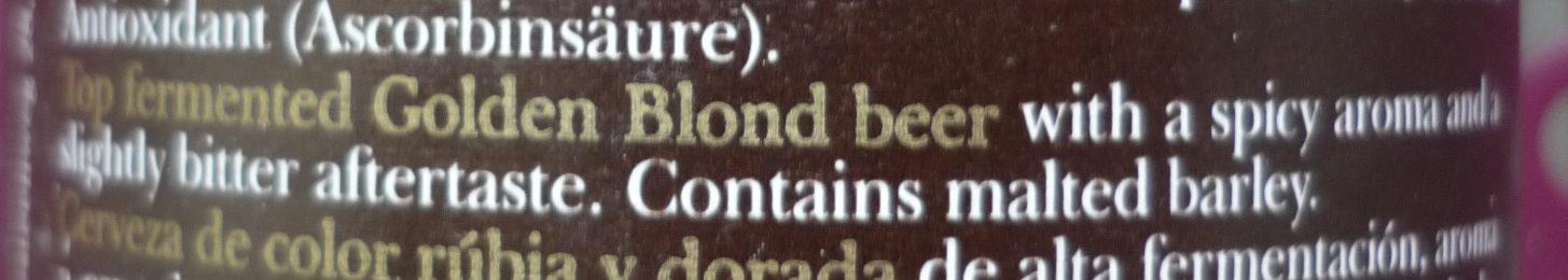 Blonde dorée - Ingredients - en