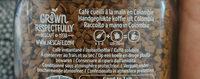 Cap Colombie - Ingrediënten