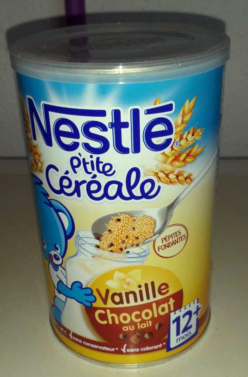 p 39 tite c r ale chocolat au lait vanille nestl 400 g. Black Bedroom Furniture Sets. Home Design Ideas