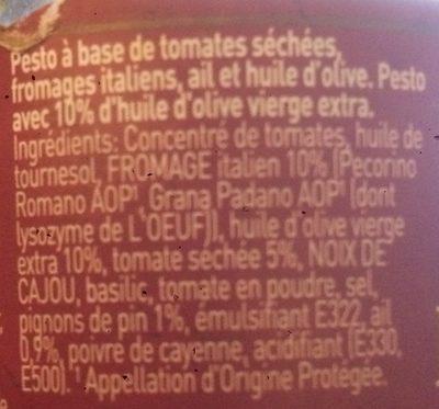 Pesto Rosso - Ingrediënten