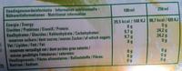 Spa citron - Informations nutritionnelles - fr