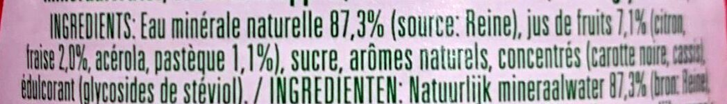 SPA DUO strawberry watermelon - Ingrédients - fr