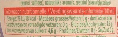 Fruit grenadine - Informations nutritionnelles - fr
