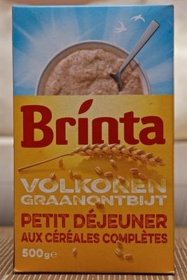 Brinta Petit déjeuner aux céréales complètes - Product - fr