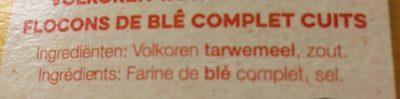 Brinta Petit déjeuner aux céréales complètes - Ingrediënten - fr