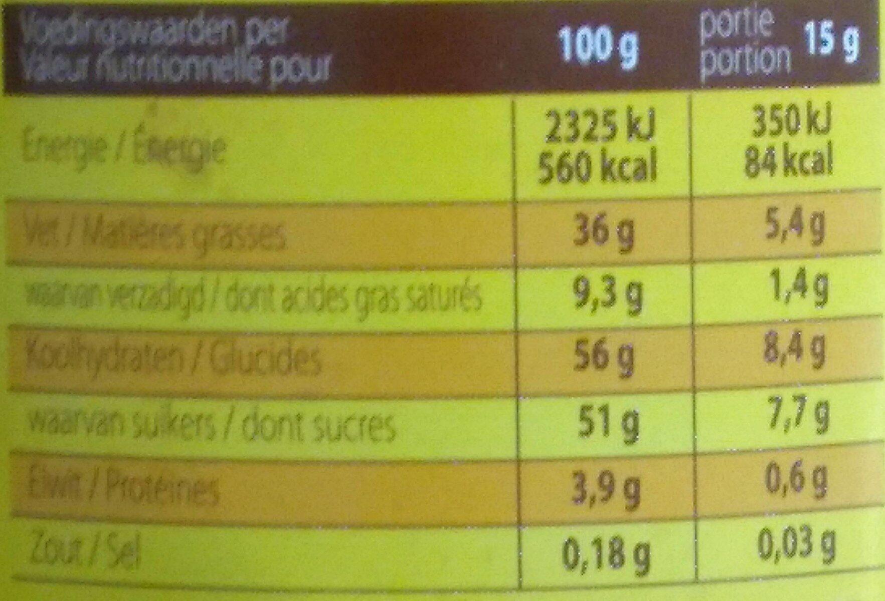 Kwatta melk-lait - Nutrition facts - nl