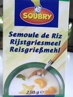 Semoule de riz - Product - fr