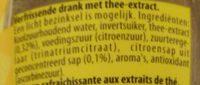 Sparkling Ice Tea - Ingrediënten - nl