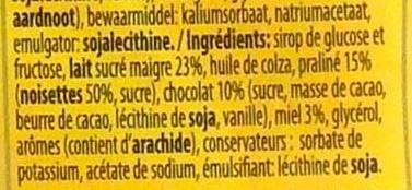 Choco délice - Ingrediënten